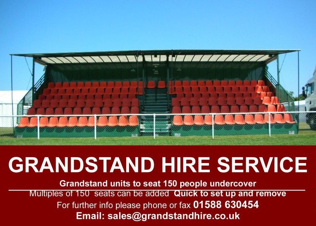 Grandstand Hire Service
