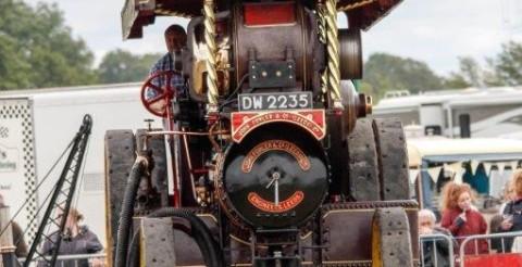 scorton steam engine